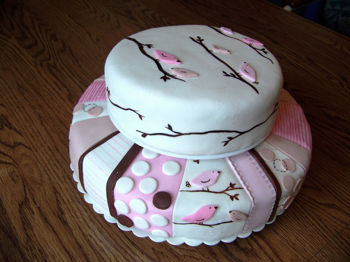 Baby Girl Shower Cake  My Crazy Blessed Life-8851