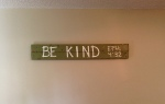 Be Kind Sign From Old Boards