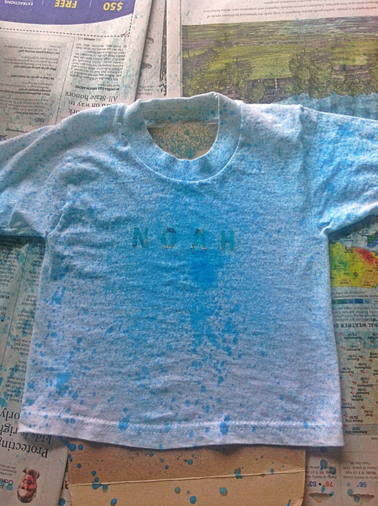 Make Your Own Fabric Spray Paint (5/6)