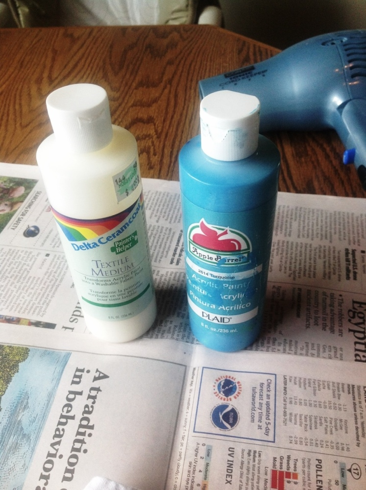 Make Your Own Fabric Spray Paint (1/6)