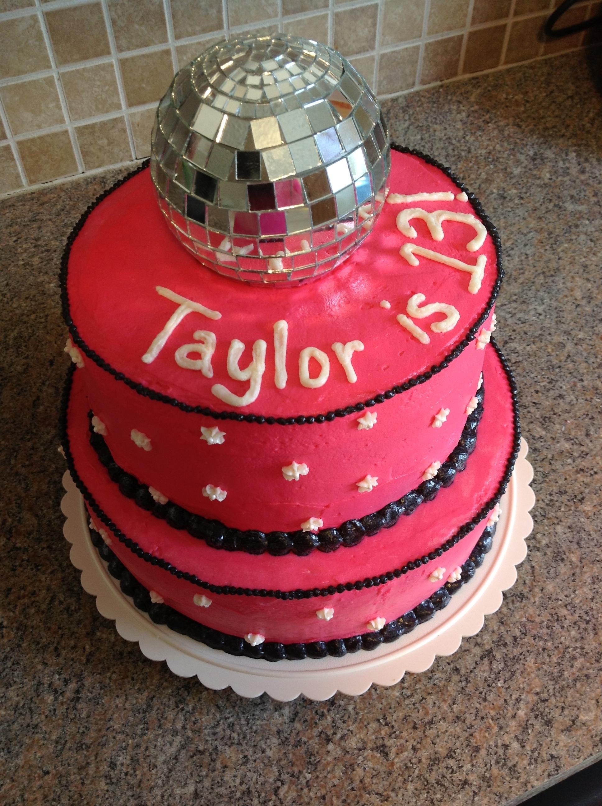 Disco Ball Cake My Crazy Blessed Life
