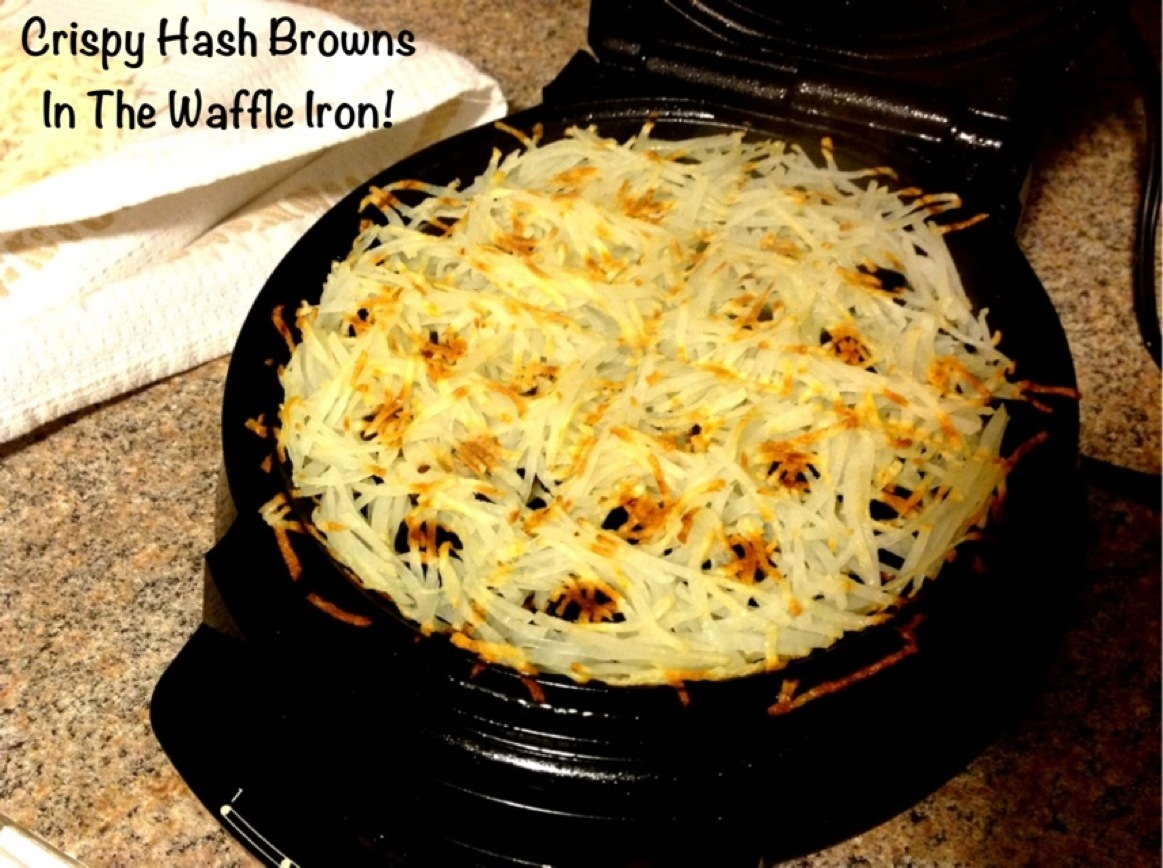 Crispy Hash Browns From The Waffle Iron! | My Crazy Blessed Life!