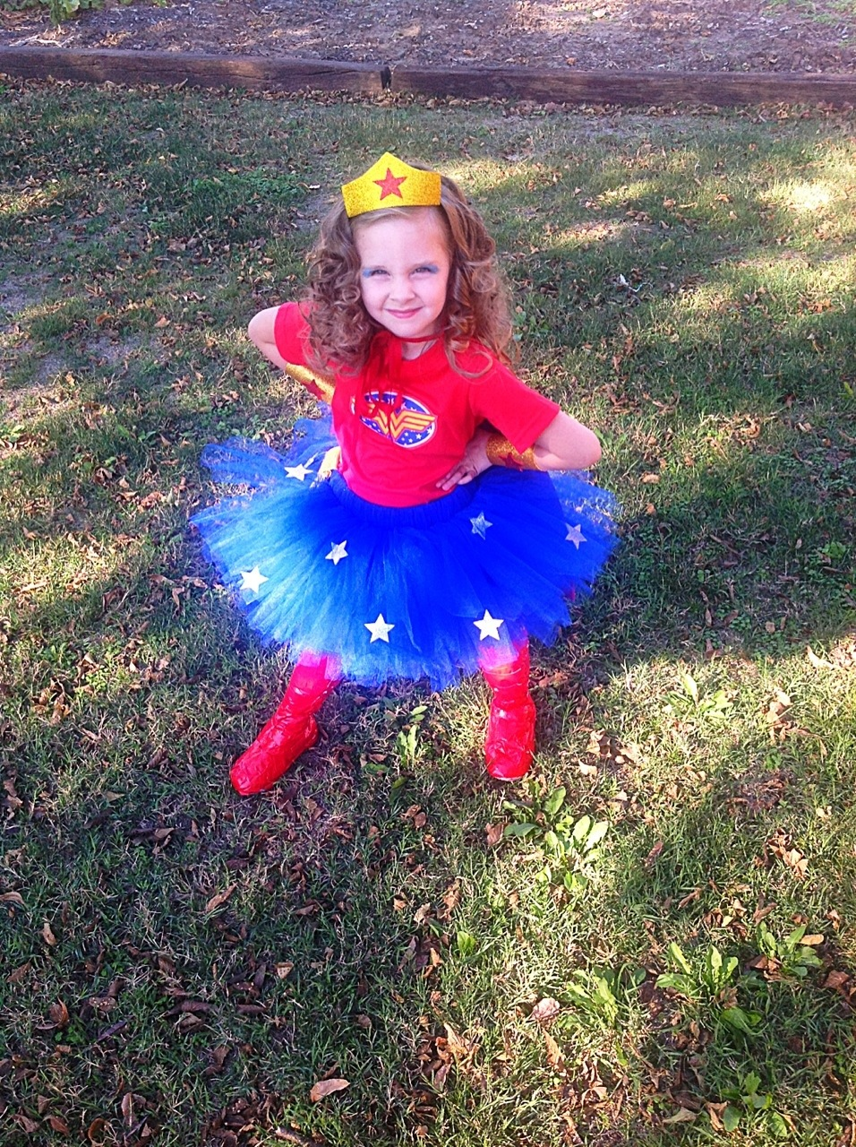 American girl wonder woman outfit-4233