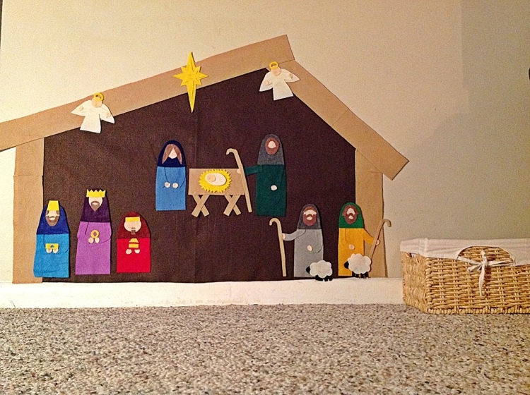 My Crazy Blessed Life's Wall Nativity