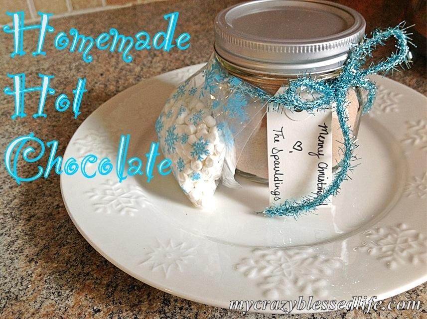 DIY Christmas Gifts: Homemade Hot Chocolate Mix (1/3)