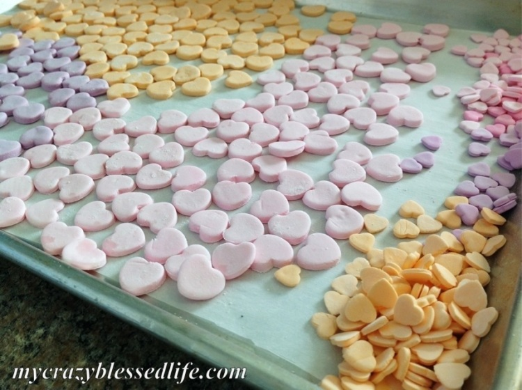 Homemade Conversation Hearts | My Crazy Blessed Life!