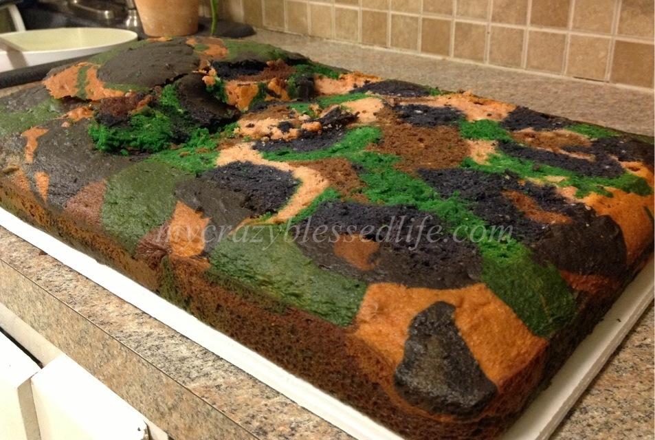 CamoNerf Cake My Crazy Blessed Life