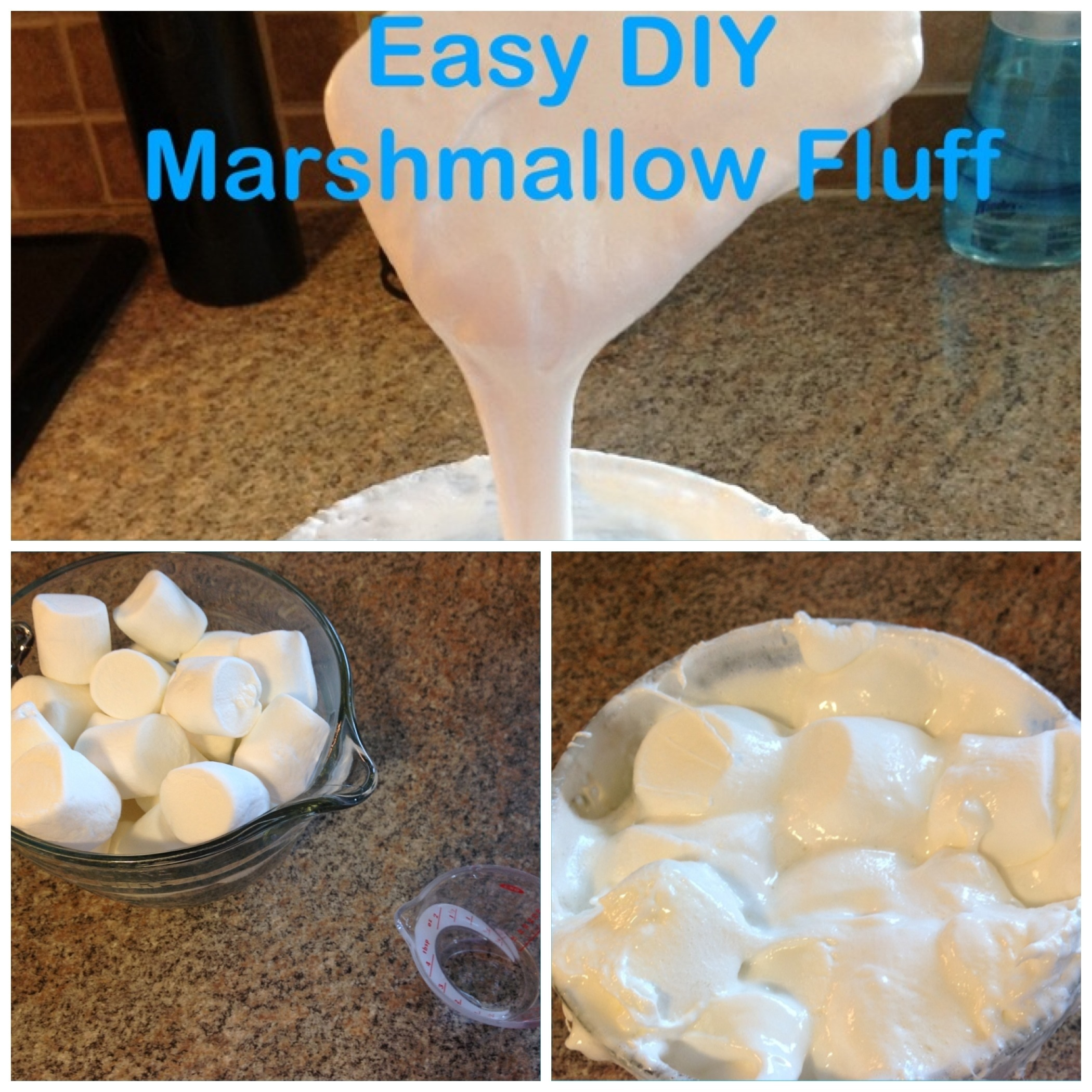 Easy Homemade Marshmallow Fluff | My Crazy Blessed Life!