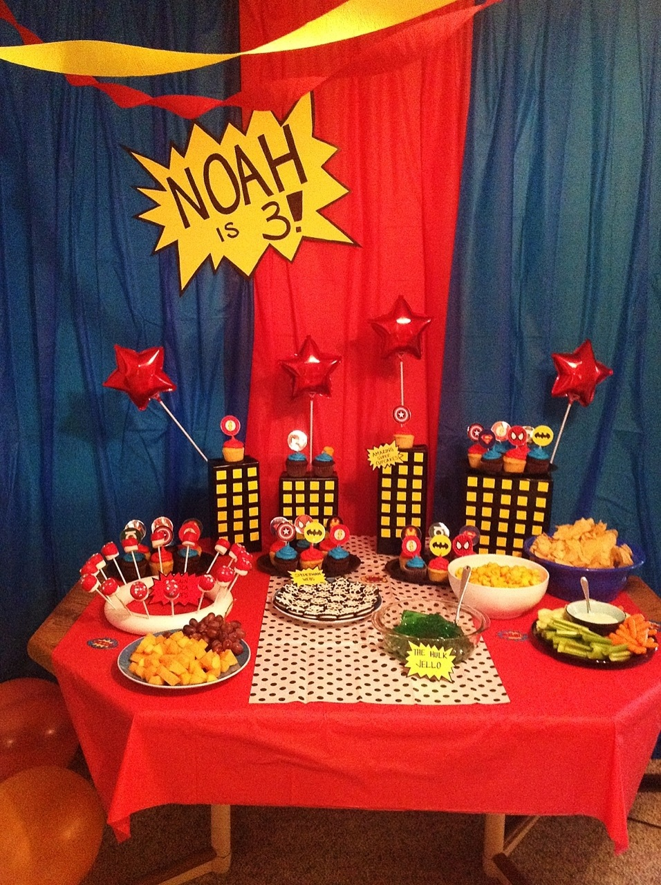 Noah S Superhero Party My Crazy Blessed Life