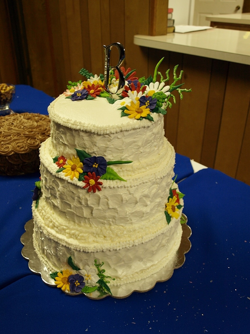 Wildflower Wedding Cake | My Crazy Blessed Life!