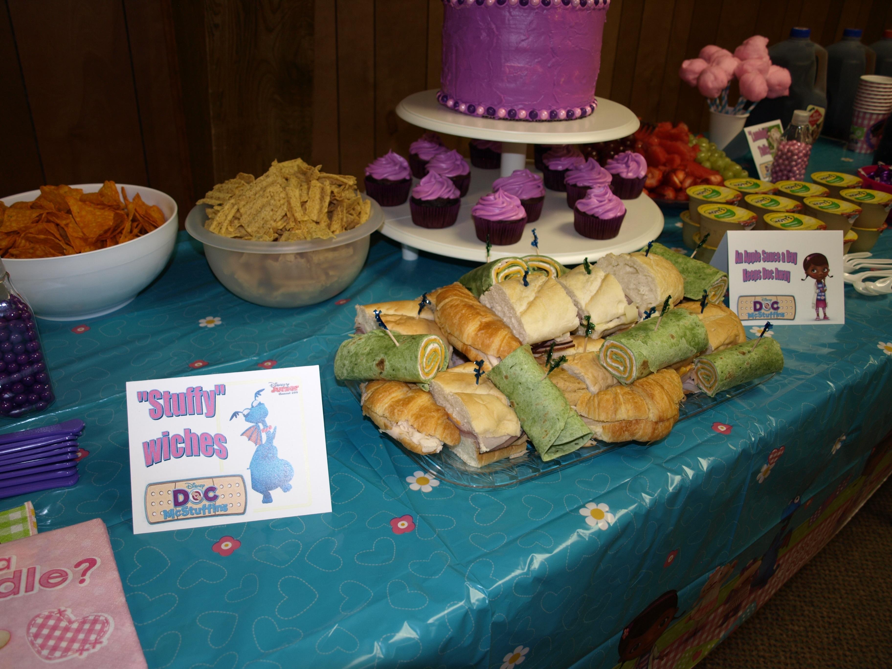 Doc Mcstuffins Birthday Cake At Walmart