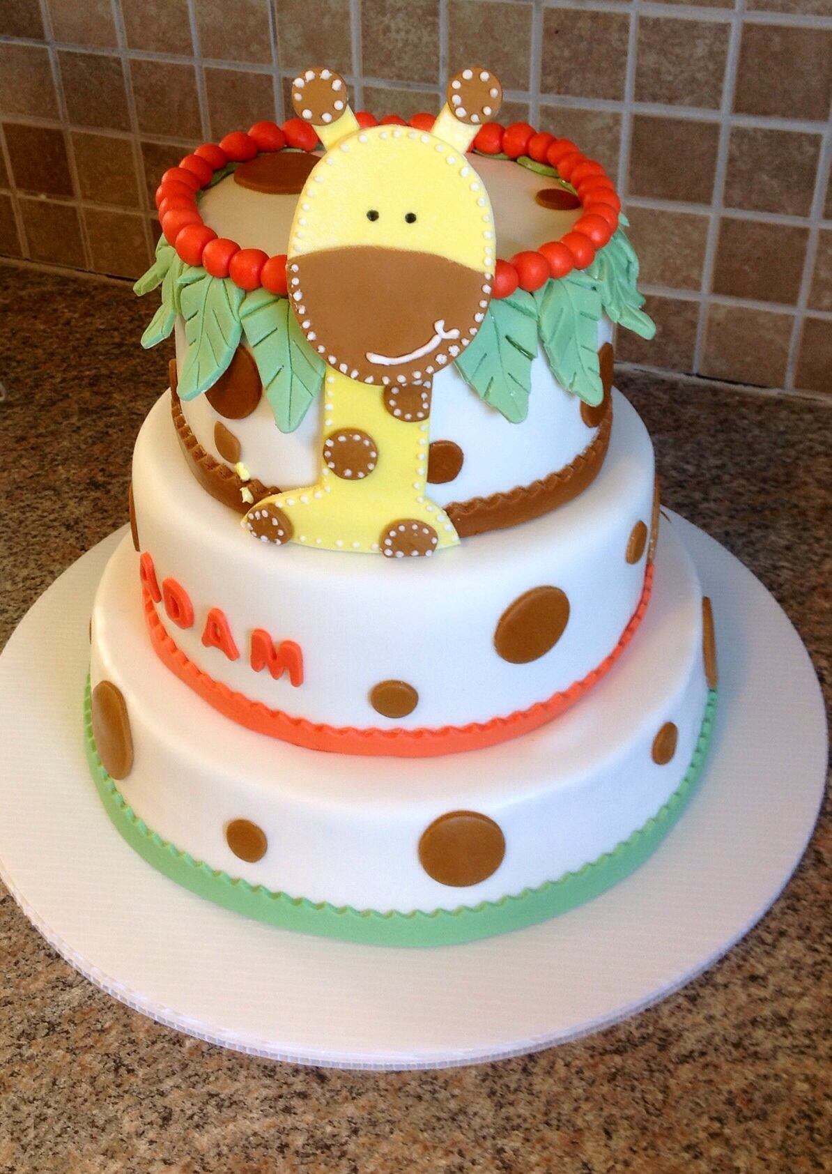 giraffe baby shower cake my crazy blessed life