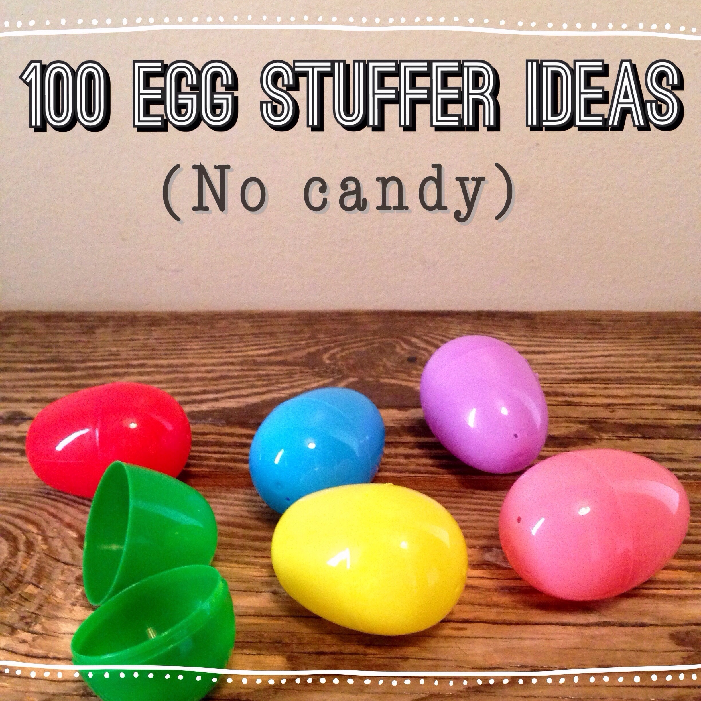Easter Egg Stuffers