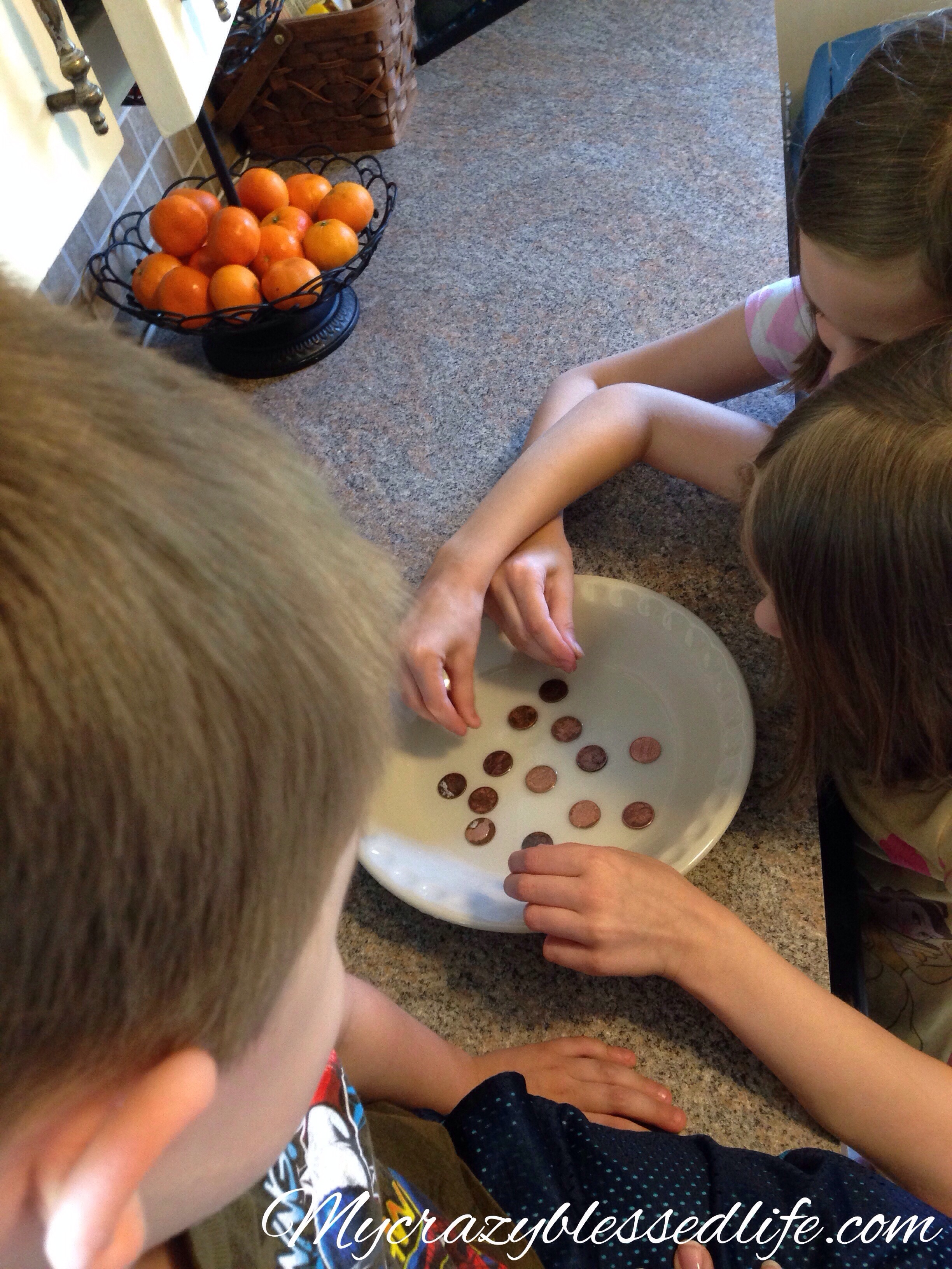 how to clean pennies experiment