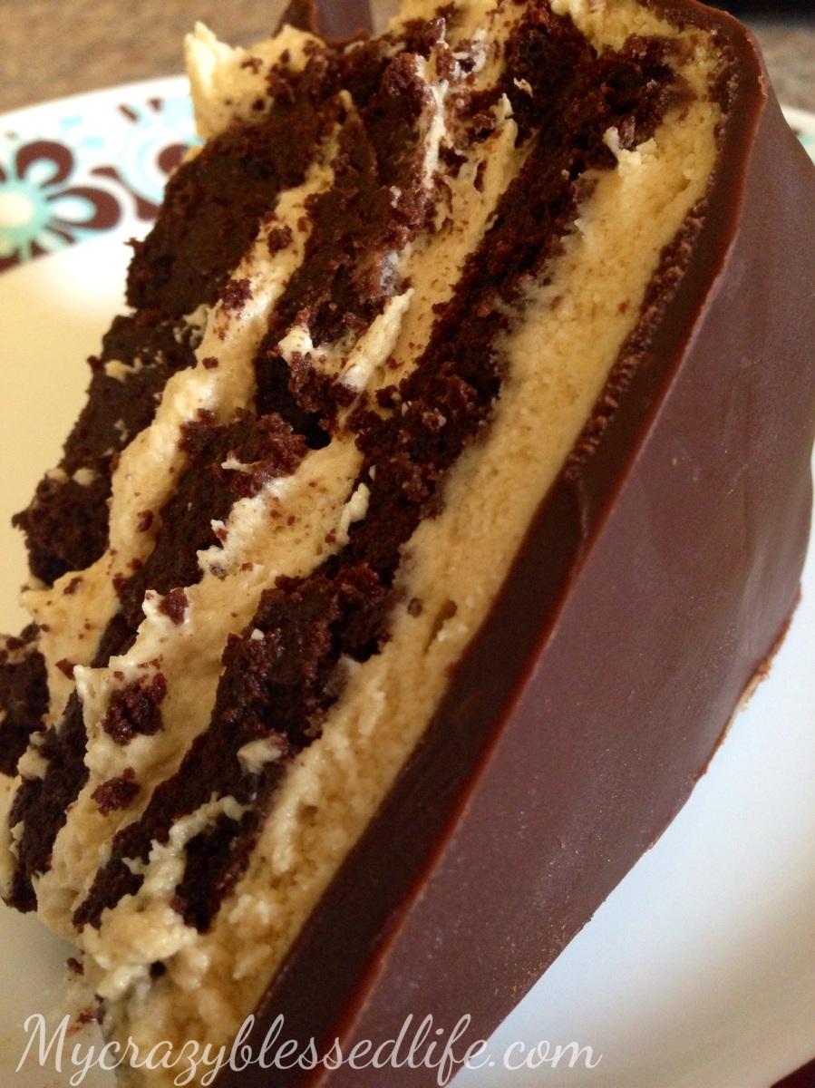 Gluten Free Buckeye Cake
