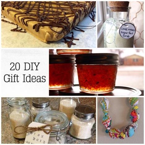 20 DIY ChristmasGifts
