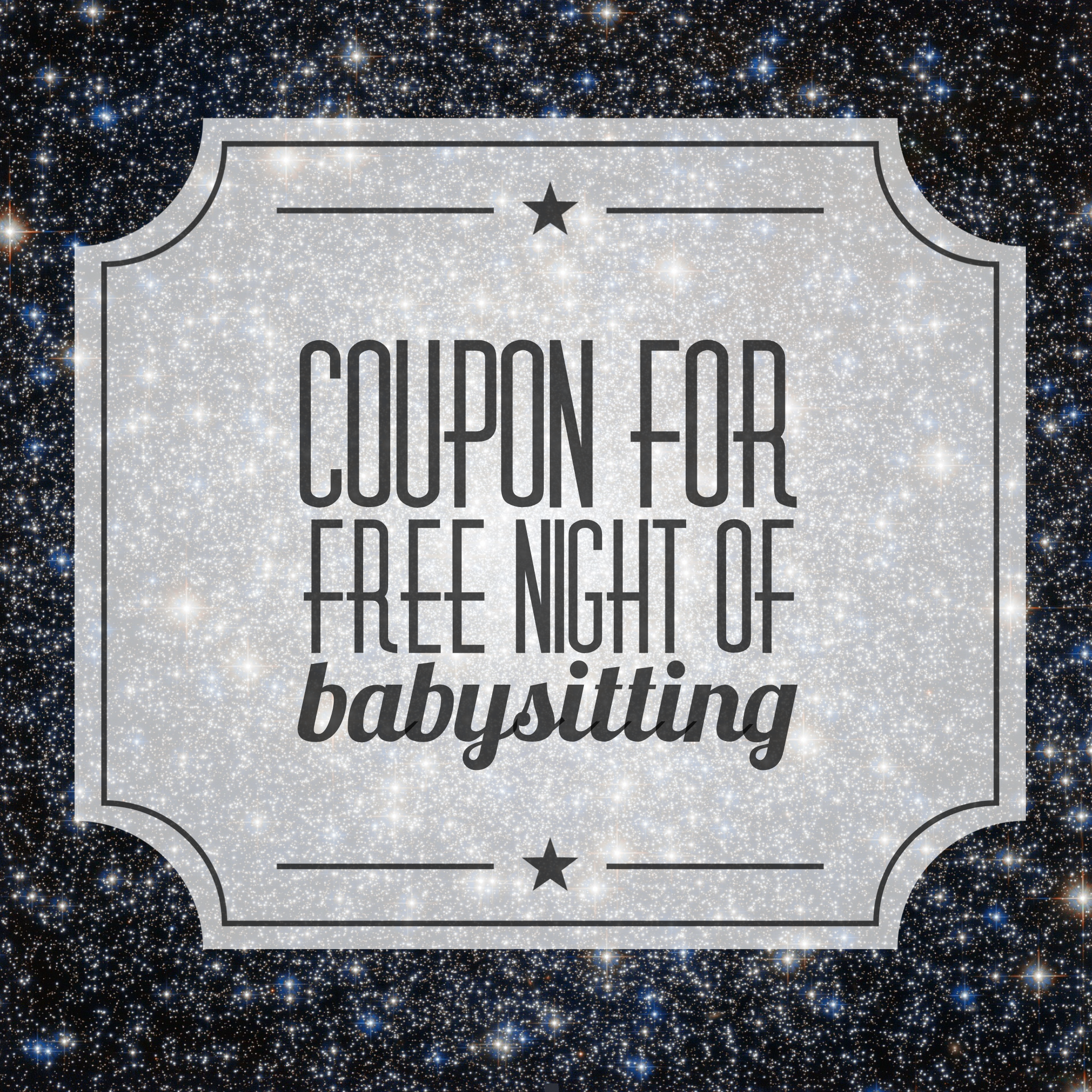 image about Babysitting Coupon Printable titled The Reward of Babysitting My Nuts Lucky Lifetime!